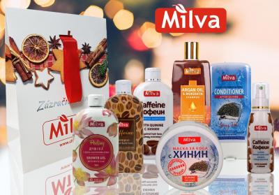 Milva Vianočný balík Chinín a Kofeín
