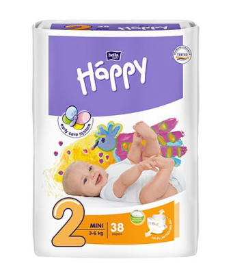 Bella Happy 2 Mini 3-6 kg 38ks