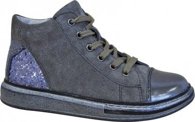 Protetika Dievčenské členkové topánky Edet - šedé č.32