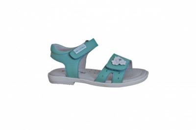 PROTETIKA - detské sandálky PALMA, zelené č. 37