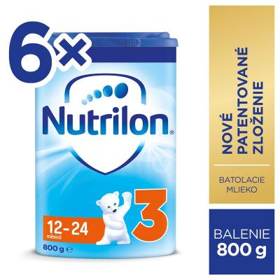Nutricia Nutrilon 3 6x800 g