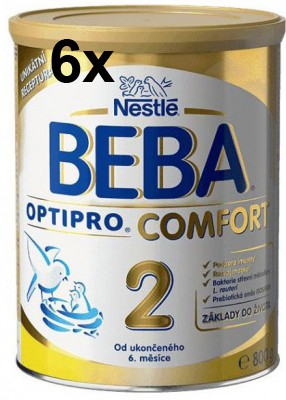 Nestlé BEBA OPTIPRO Comfort 2 6x800 g