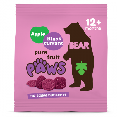 Bear - Jablkovo - ríbezľové labky 20g