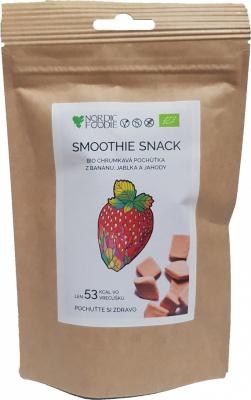 Ovocný Smoothie Snack BIO (jahoda) - mrazom sušené ovocie