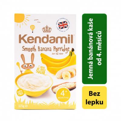 Kendamil Jemná detská banánová 125g