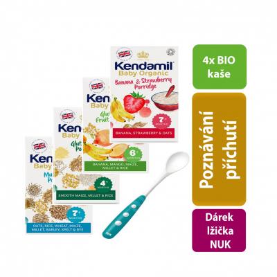 Kendamil 4x variácie jahoda, ovocna,viaczrnna, bezglutenova