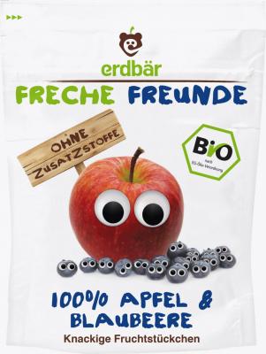 100% jablko a čučoriedka sušené mrazom BIO 16g