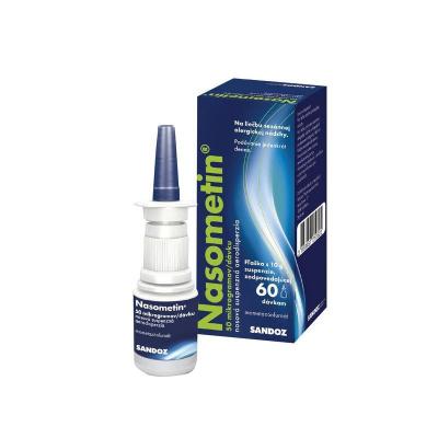 Nasometin 50 mikrogramov/dávku aer nau 10 g (fľ.HDPE s rozprašovačom) 1x60 dávok