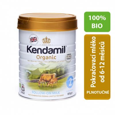 Kendamil 100% BIO pokračovacie mlieko 2 800 g
