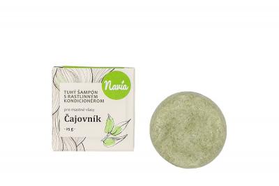 Kvitok Čajovník, tuhý šampón 25 g