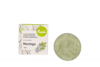 Kvitok Moringa Tuhý šampón s Kondicionérom (proti LUPINÁM) 25g