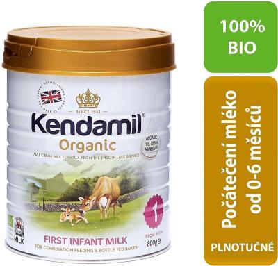 KENDAMIL 100% BIO/organické plnotučné dojčenské mlieko 1 (800g)