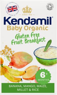 Kendamil Detská bezlepková ovocná kaša 150g Organic Bio