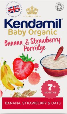 Kendamil Bio/organická banán & jahoda 150 g
