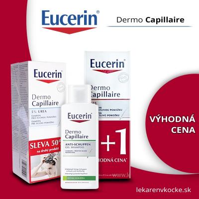 Vlasová kozmetika Eucerin DermoCapillaire