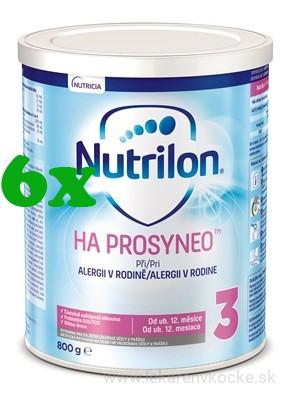 Nutricia NUTRILON 3 HA PROSYNEO 6x800g
