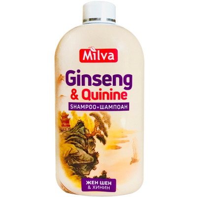 Milva Ženšen a Chinín BIG Šampón 500 ml