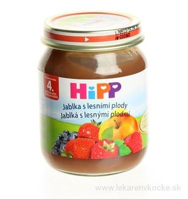 HiPP BIO Jablká s lesnými plodmi 6 x 125 g