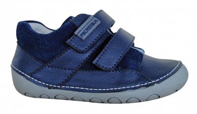 NED NAVY obuv detská barefoot NED modrá č.26