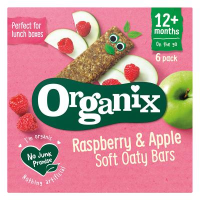 Malinovo – jablkové tyčinky (6x30g) - Goodies - ORGANIX