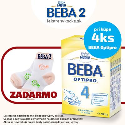Darček ponožky k BEBA Optipro