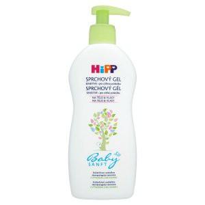HiPP BabySANFT Detský sprchový gél s pumpičkou, na telo a vlasy 1x400 ml