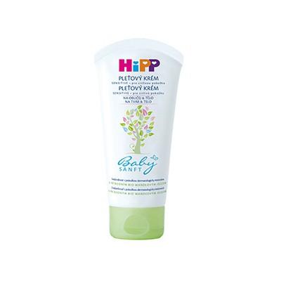 HiPP BabySANFT Krém na tvár a telo 1x75 ml