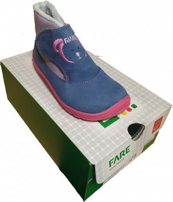 FARE BARE Detské zimné topánky  5144251 veľkosť č.23