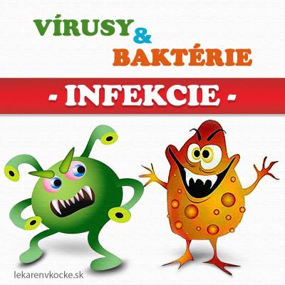 Bakteriálna a vírusová-infekcia - CRP