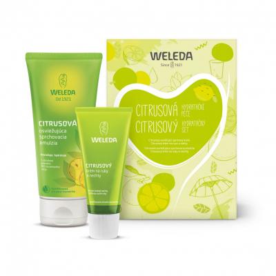 Weleda - Citrusový hydratačný set