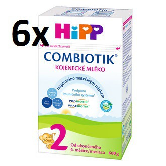 HiPP 2 BIO Combiotic 6x600 g