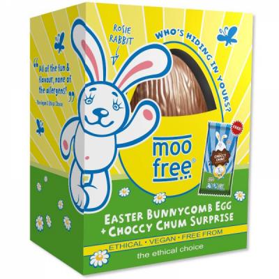 Moo free veľkonočné vajíčko – medový plást (130g)