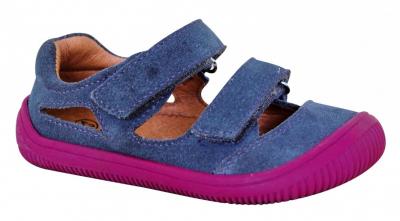 Protetika dievčenské topánky BERG grey, veľkosť č. 24