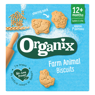 Organix Goodies Zvieracie keksíky (100g)