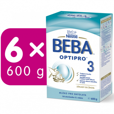 BEBA OPTIPRO 3 6x600 g