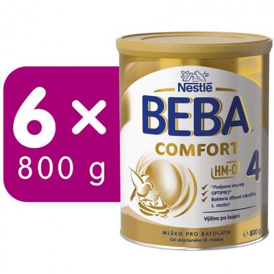 BEBA COMFORT 4 6x800g