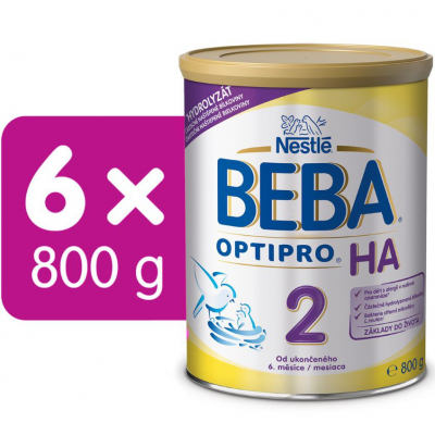 BEBA OPTIPRO HA 2 6x800g