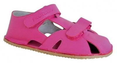 Protetika dievčenské topánky ZERO fuxia, 26, ružová