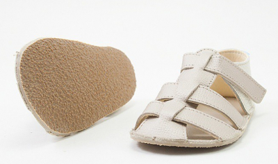 BABY BARE SANDALS GOLD C23