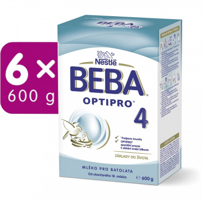 BEBA OPTIPRO 4 6x600 g