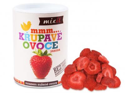 Mixít -Jahoda - Chrumkavé ovocie