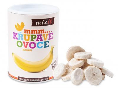 Mixit - Banán - Chrumkavé ovocie