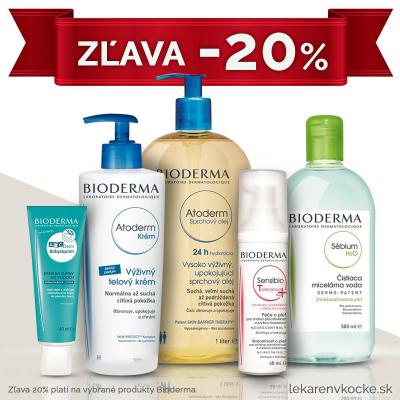 Bioderma zľava -20%