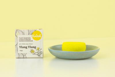 Kvitok Ylang Ylang, tuhý šampón 25 g
