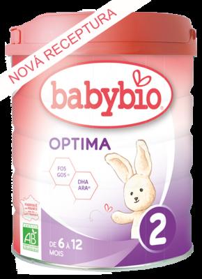 Dojčenské  BIO mlieko OPTIMA 2 800 G Babybio