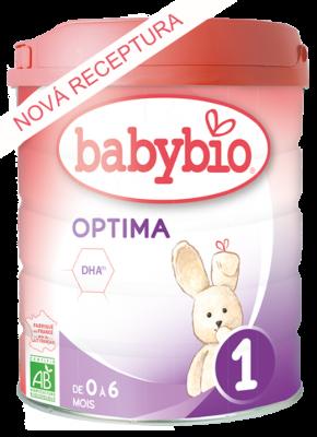 Dojčenské BIO mlieko Optima 1 800 G babybio