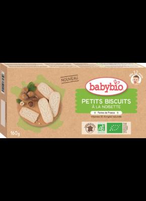 Detské sušienky lieskový orech babybio