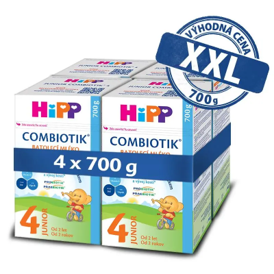 HiPP 4 JUNIOR Combiotik 4 x 700 g