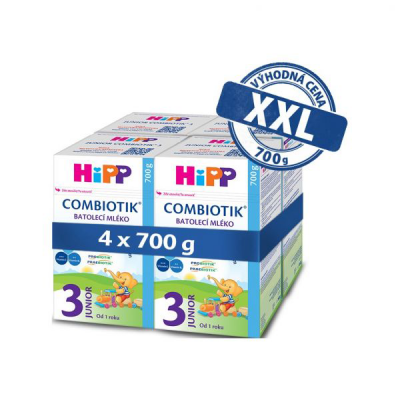 HiPP 3 Junior Combiotik 4 x 700 g