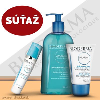 Súťaž o kozmetiku BIODERMA